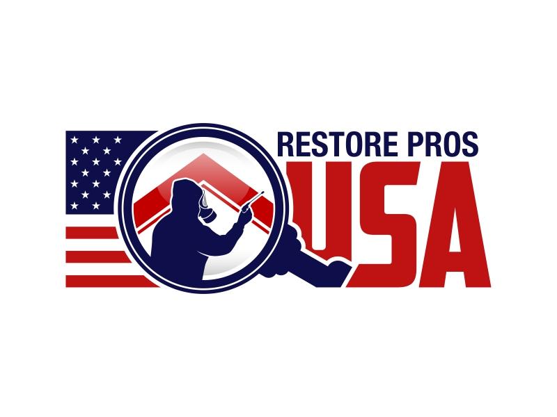 Restore Pros USA Logo Design