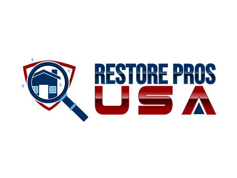 Restore Pros USA logo design by Mayong Satriya