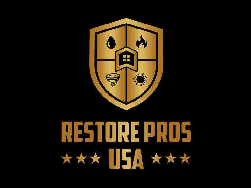 Restore Pros USA logo design by Bananalicious