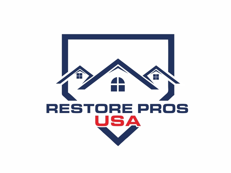 Restore Pros USA logo design by Greenlight