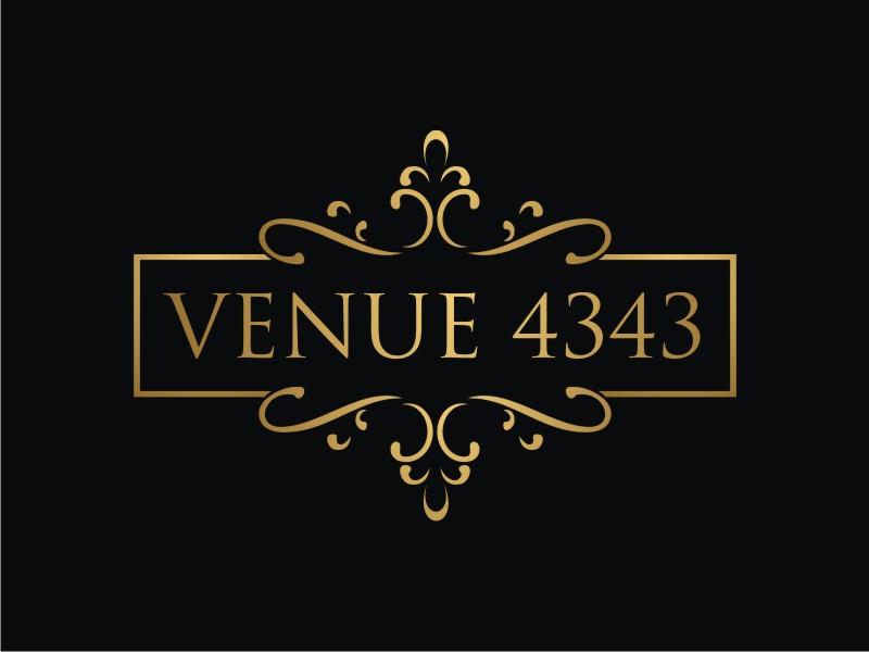 VENUE 4343 Logo Design