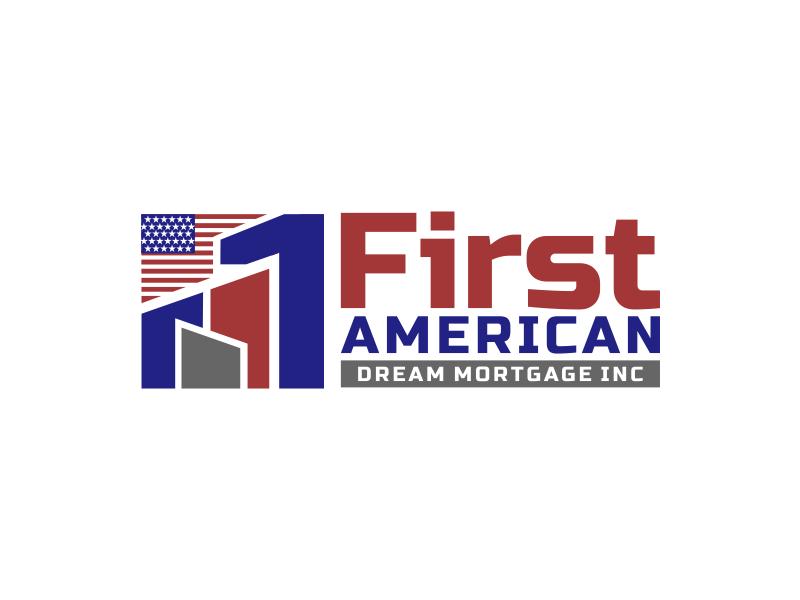 First American Dream Mortgage Inc logo design by imagine