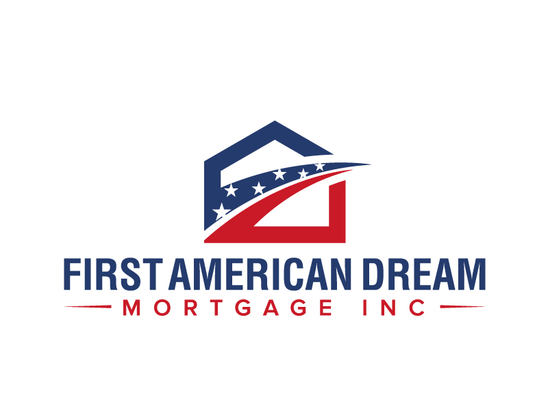 First American Dream Mortgage Inc logo design by jaize