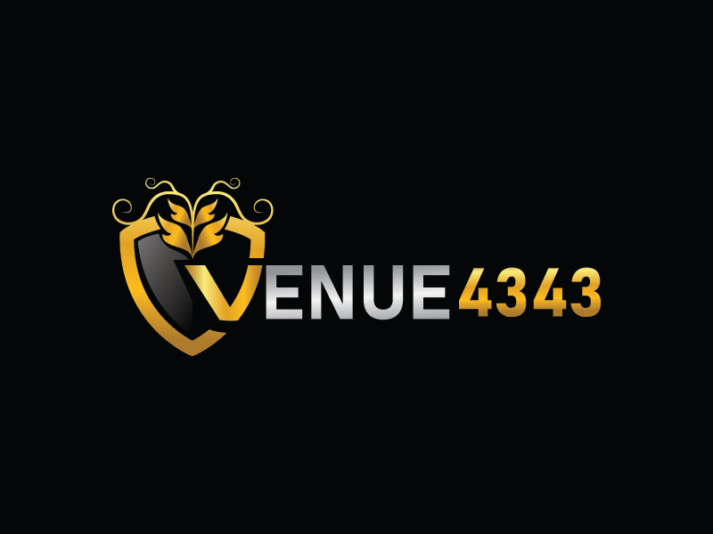 VENUE 4343 logo design by Shailesh