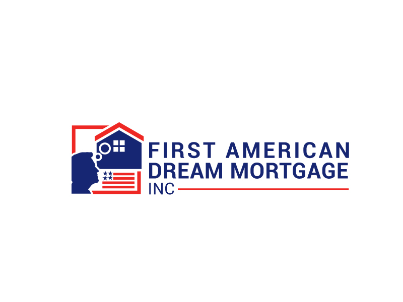 First American Dream Mortgage Inc logo design by Foxcody