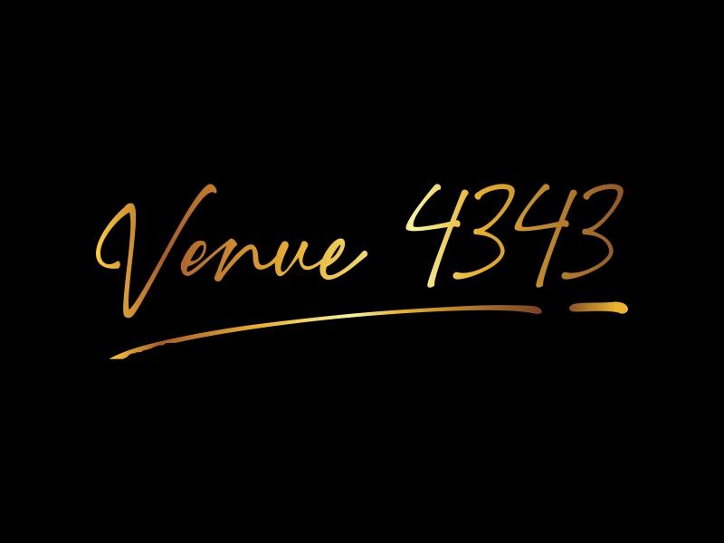 VENUE 4343 logo design by qqdesigns