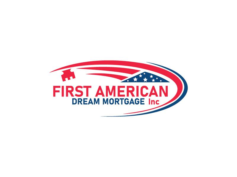 First American Dream Mortgage Inc logo design by Shailesh