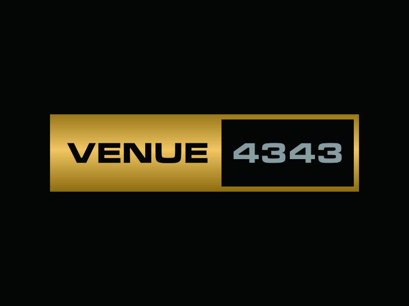 VENUE 4343 logo design by ozenkgraphic
