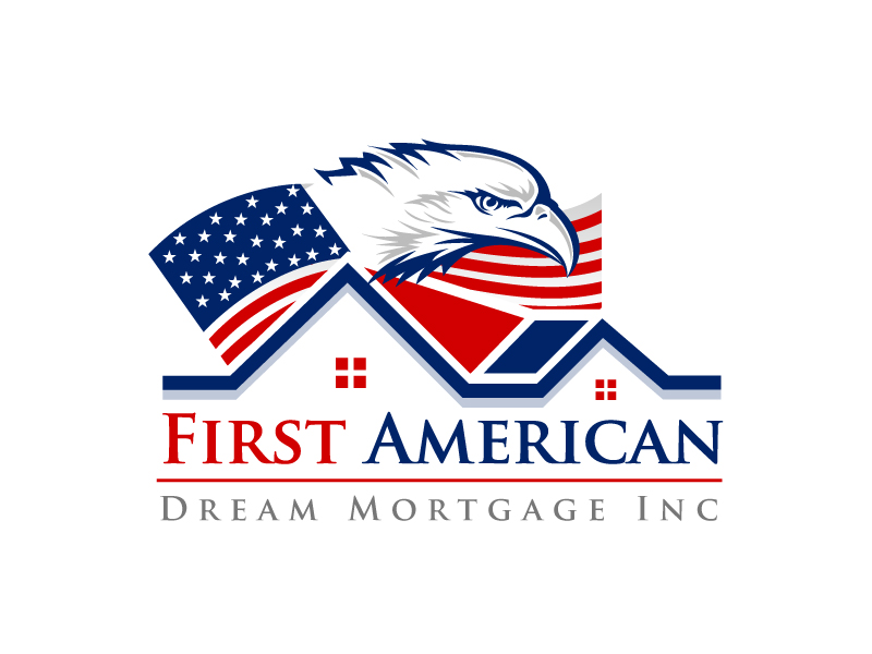 First American Dream Mortgage Inc logo design by aRBy