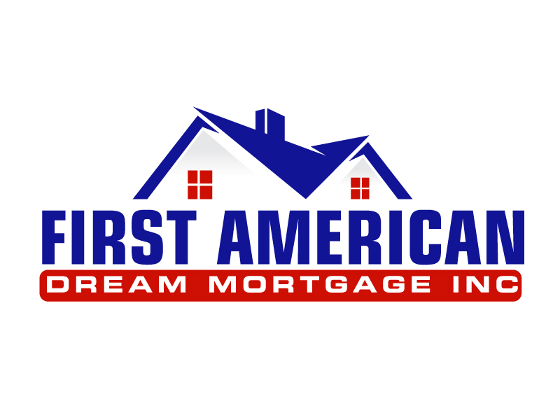 First American Dream Mortgage Inc logo design by ElonStark