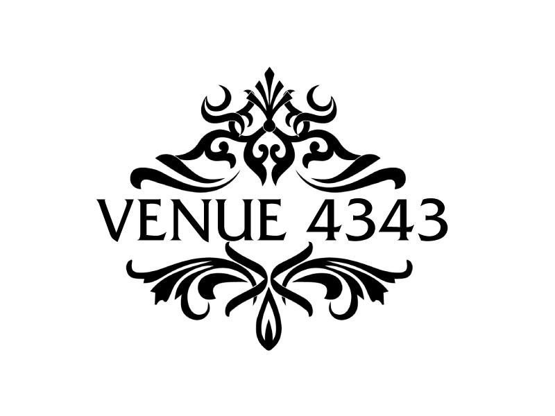 VENUE 4343 logo design by ElonStark
