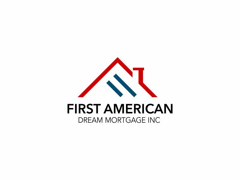 First American Dream Mortgage Inc logo design by ian69