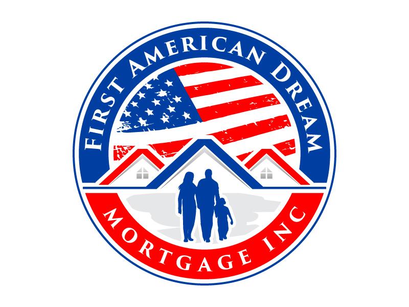 First American Dream Mortgage Inc logo design by PRN123