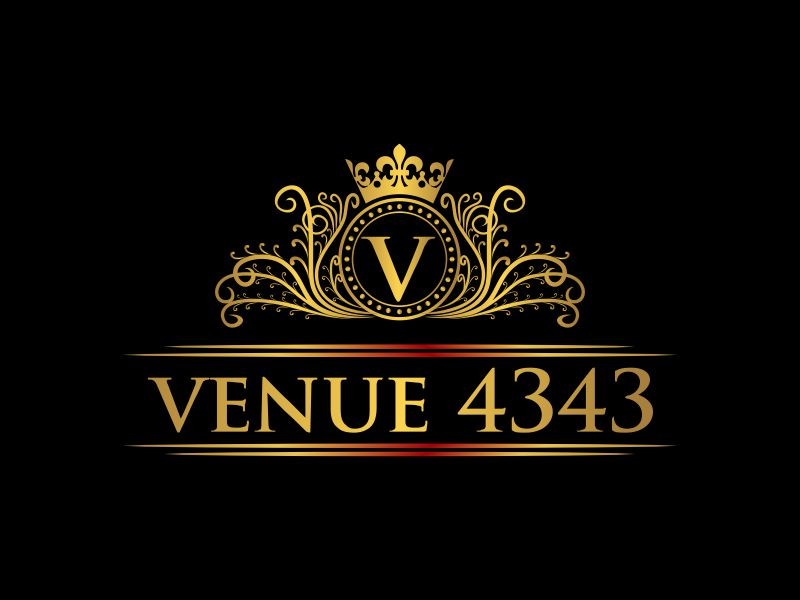 VENUE 4343 logo design by oke2angconcept