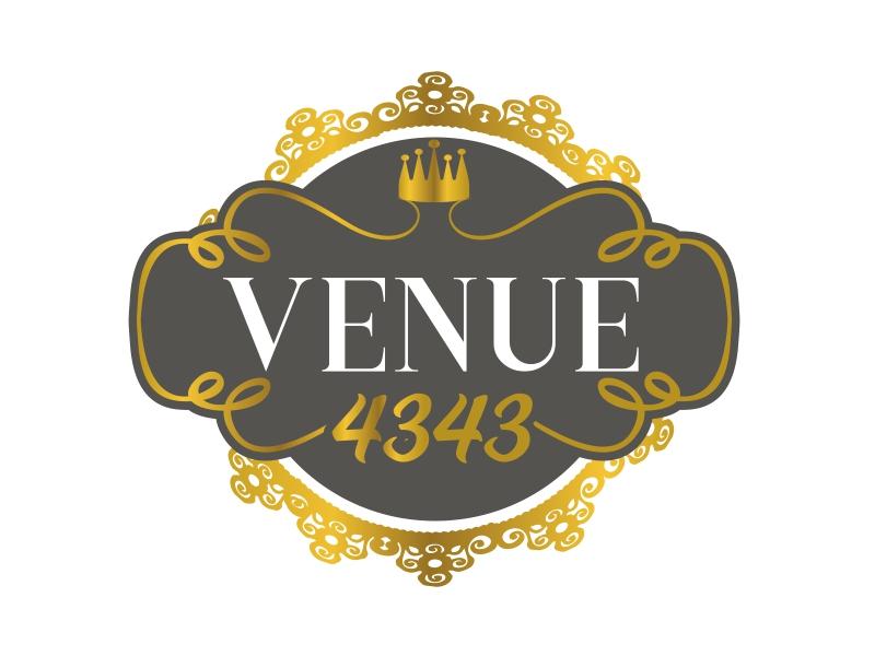 VENUE 4343 logo design by serprimero