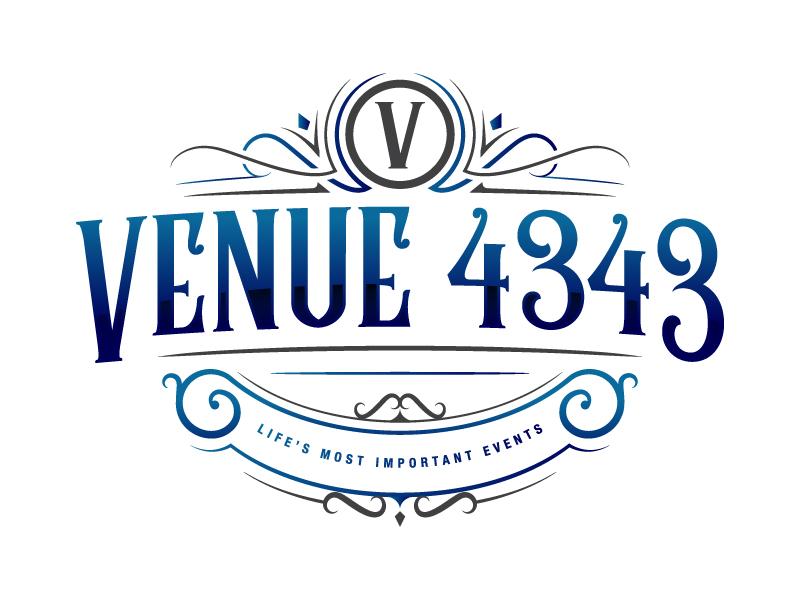 VENUE 4343 logo design by PRN123