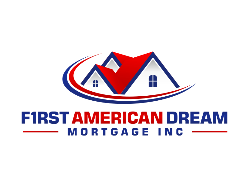 First American Dream Mortgage Inc logo design by pionsign