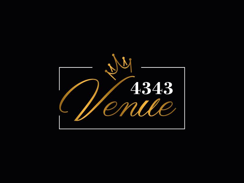 VENUE 4343 logo design by il-in