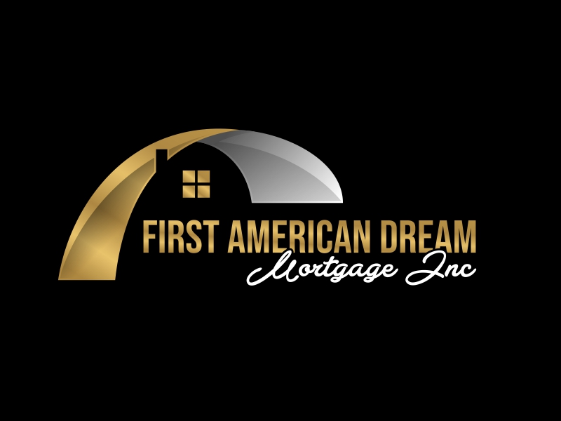 First American Dream Mortgage Inc logo design by serprimero