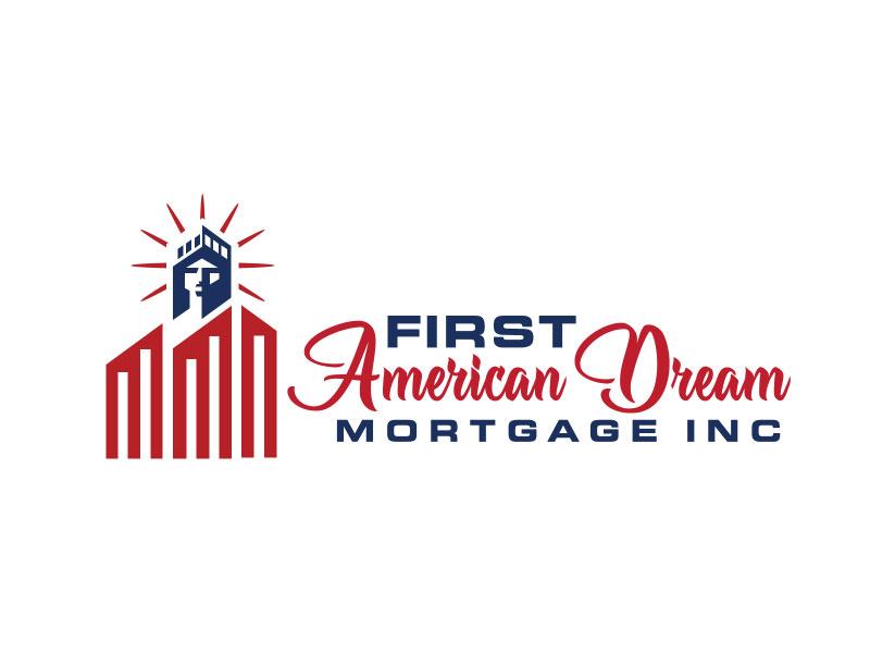 First American Dream Mortgage Inc logo design by nona