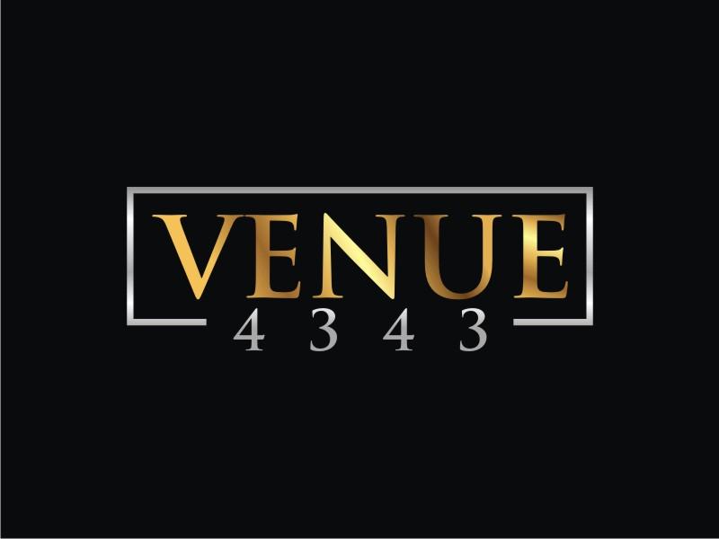 VENUE 4343 logo design by josephira