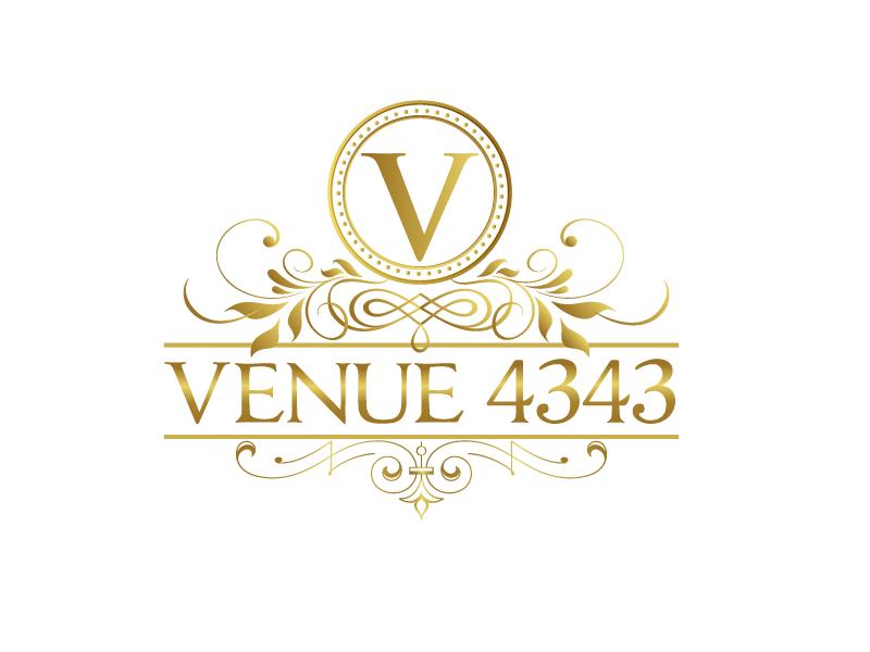 VENUE 4343 logo design by Marianne