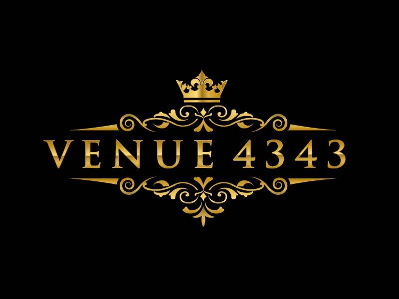 VENUE 4343 logo design by usef44