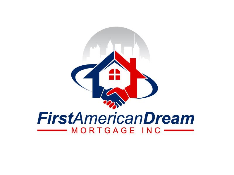 First American Dream Mortgage Inc logo design by Marianne