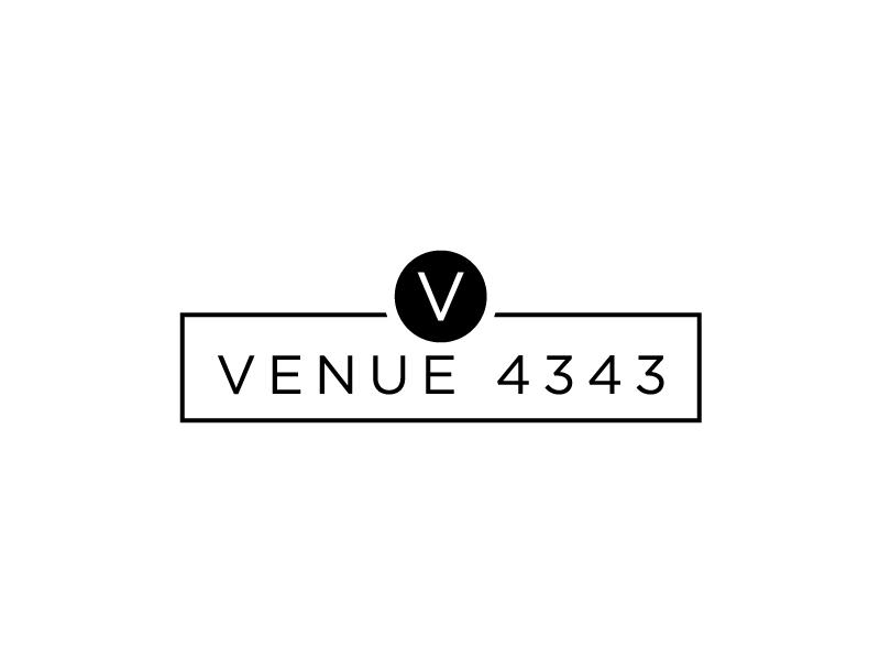 VENUE 4343 logo design by Erasedink