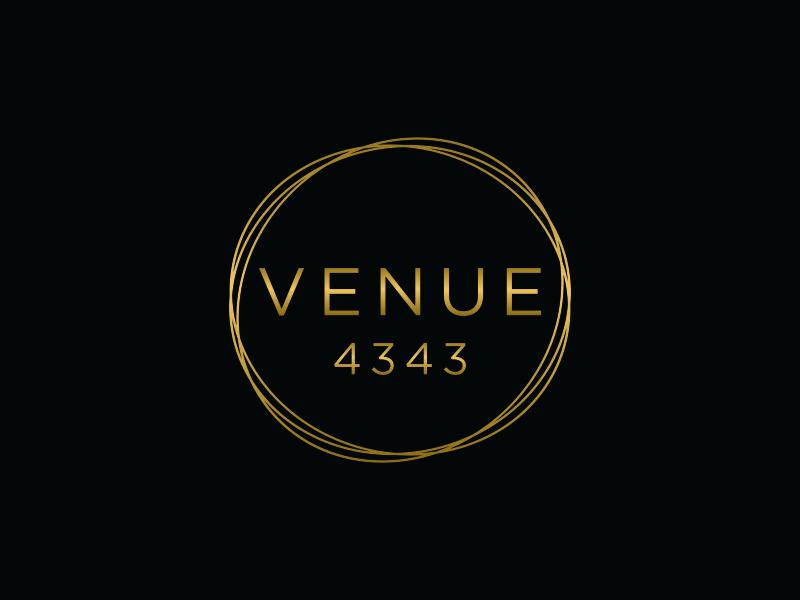 VENUE 4343 logo design by DuckOn