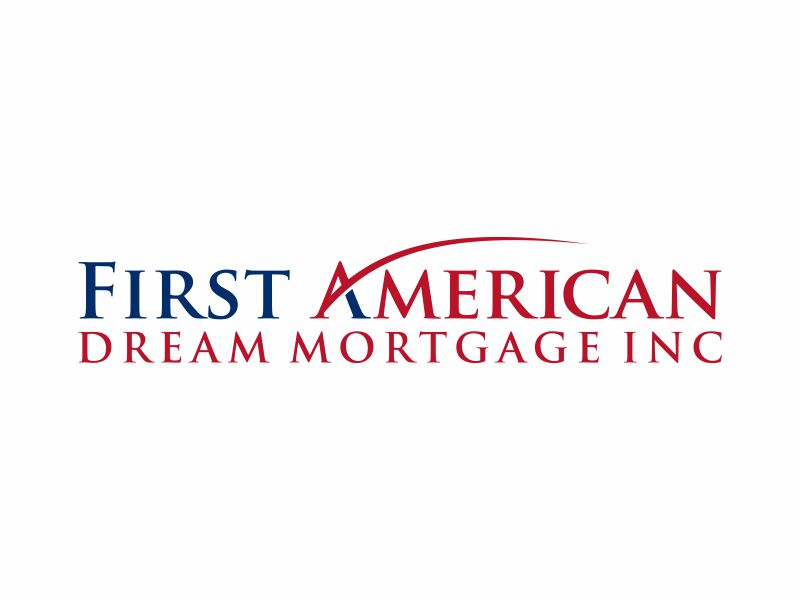 First American Dream Mortgage Inc logo design by puthreeone