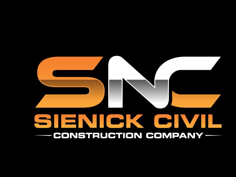 Sienick Civil Construction Company logo design by jaize
