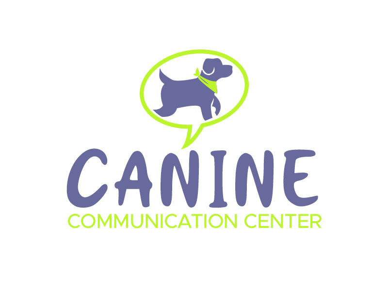 Canine Communication Center - you can check out the website at www.thewineglassranch.com logo design by kunejo