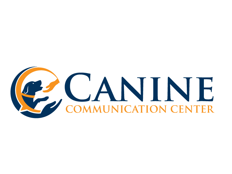Canine Communication Center - you can check out the website at www.thewineglassranch.com logo design by jaize
