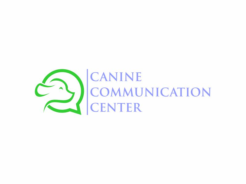 Canine Communication Center - you can check out the website at www.thewineglassranch.com logo design by y7ce