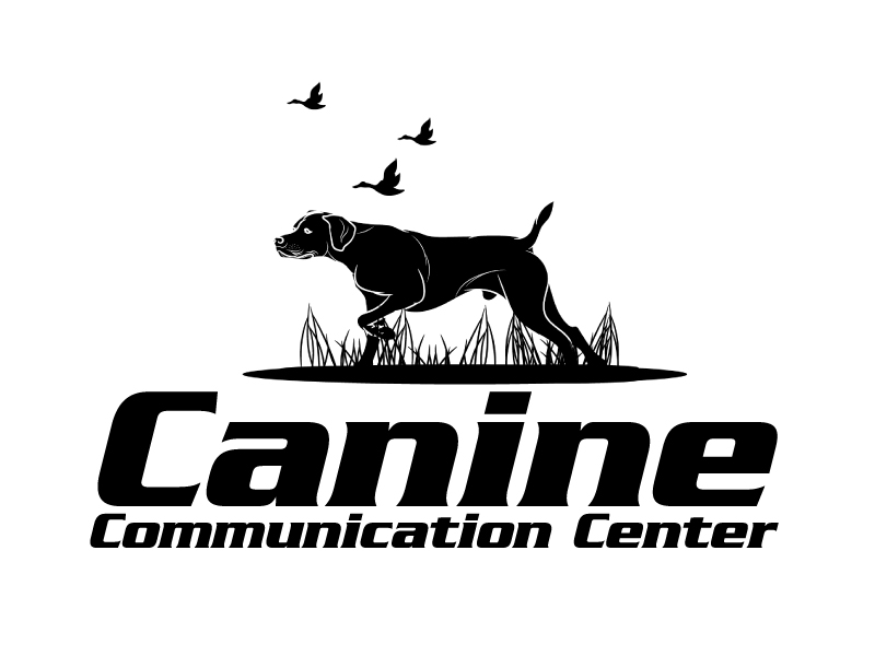 Canine Communication Center - you can check out the website at www.thewineglassranch.com logo design by ElonStark