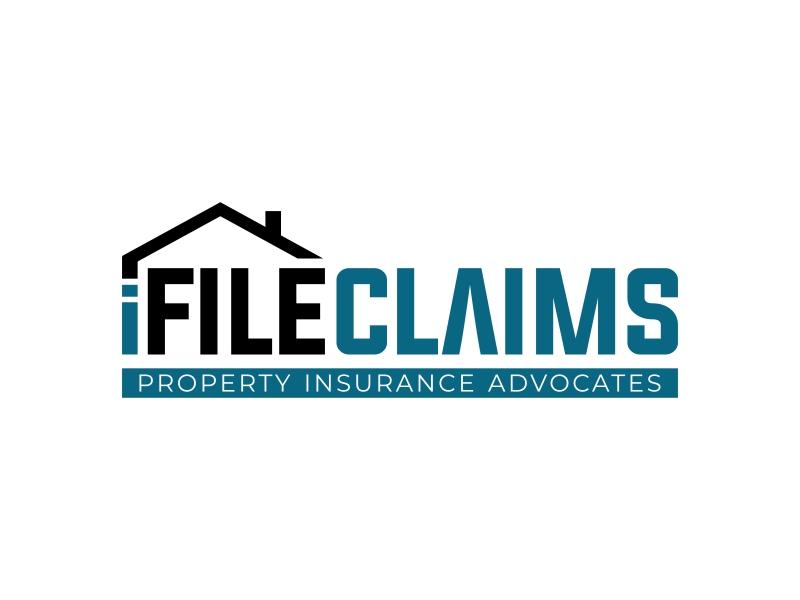 iFile Claims - Property Insurance Advocates Logo Design
