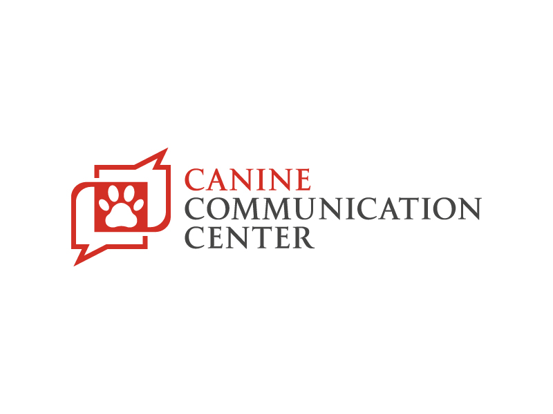 Canine Communication Center - you can check out the website at www.thewineglassranch.com logo design by akilis13