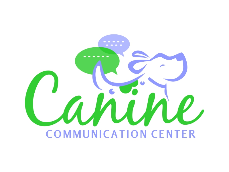 Canine Communication Center - you can check out the website at www.thewineglassranch.com logo design by ruki