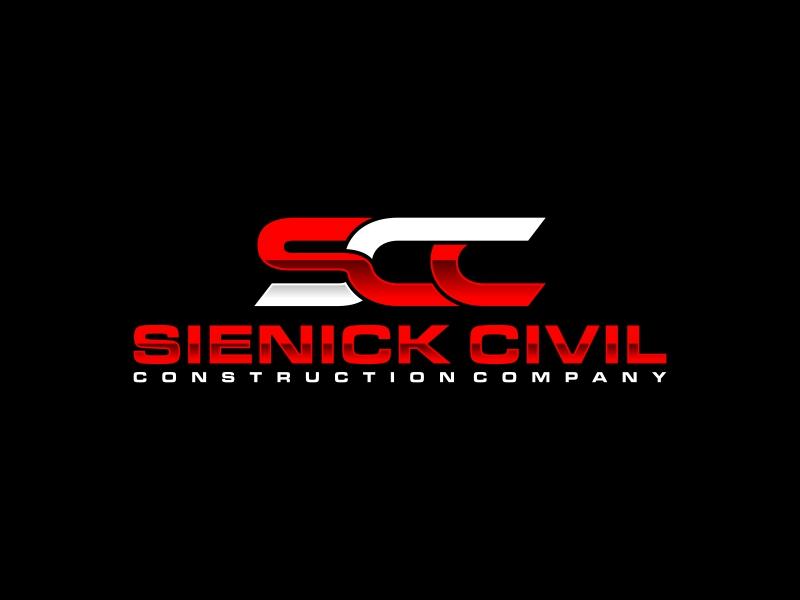Sienick Civil Construction Company logo design by ora_creative