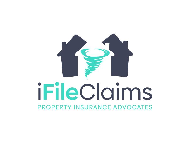 iFile Claims - Property Insurance Advocates logo design by akilis13