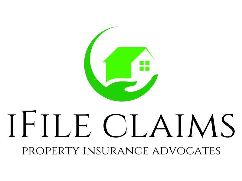 iFile Claims - Property Insurance Advocates logo design by jetzu
