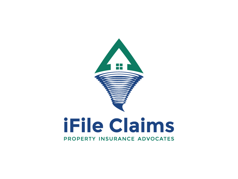 iFile Claims - Property Insurance Advocates logo design by Alphaceph