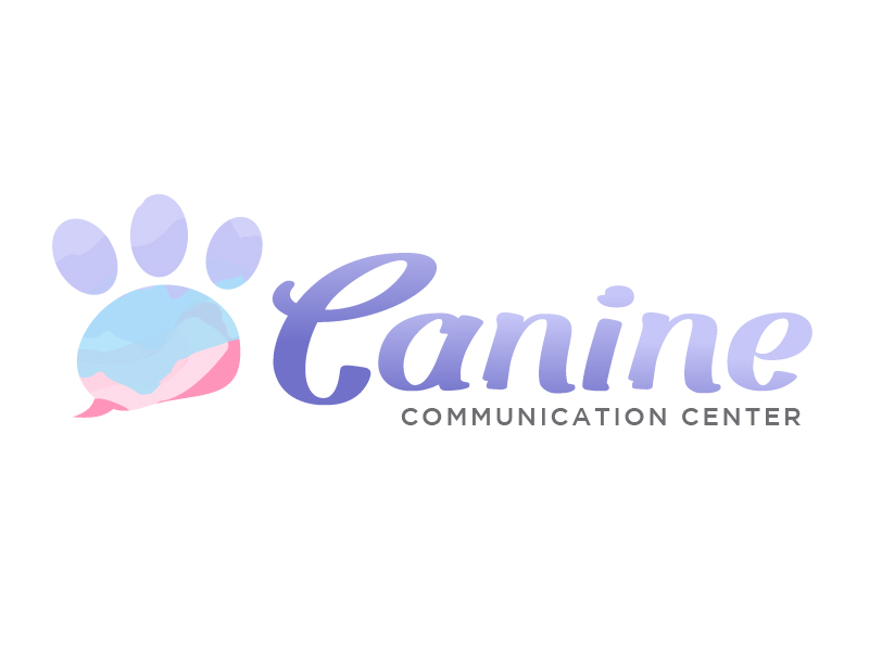 Canine Communication Center - you can check out the website at www.thewineglassranch.com logo design by logy_d