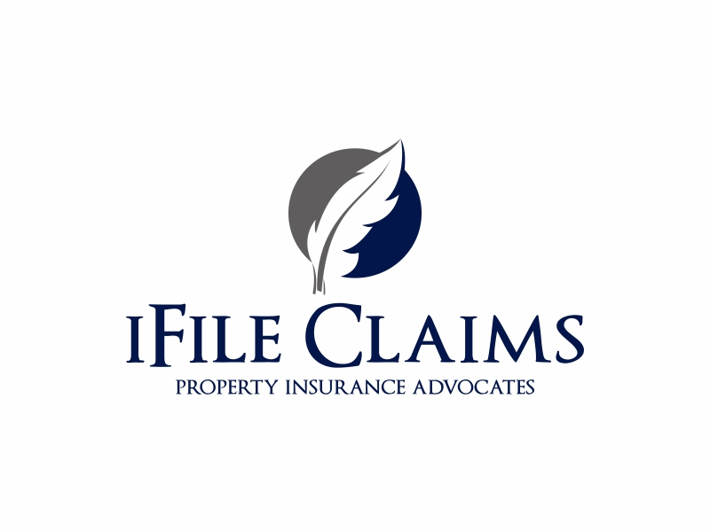 iFile Claims - Property Insurance Advocates logo design by Greenlight