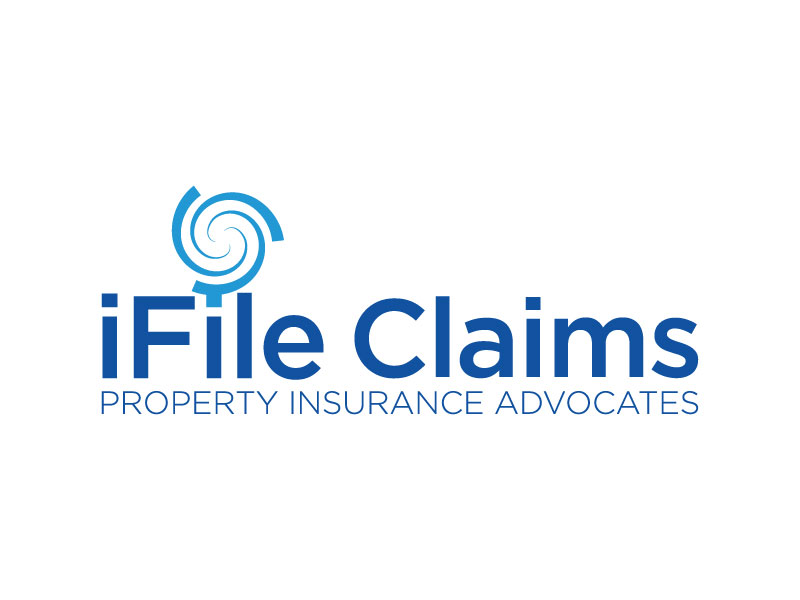 iFile Claims - Property Insurance Advocates logo design by yondi