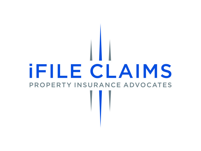 iFile Claims - Property Insurance Advocates logo design by ozenkgraphic