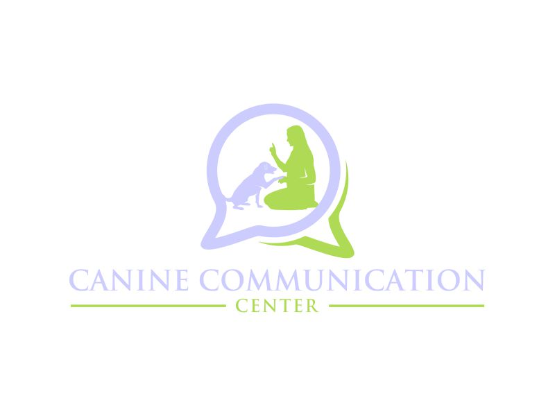 Canine Communication Center - you can check out the website at www.thewineglassranch.com logo design by done