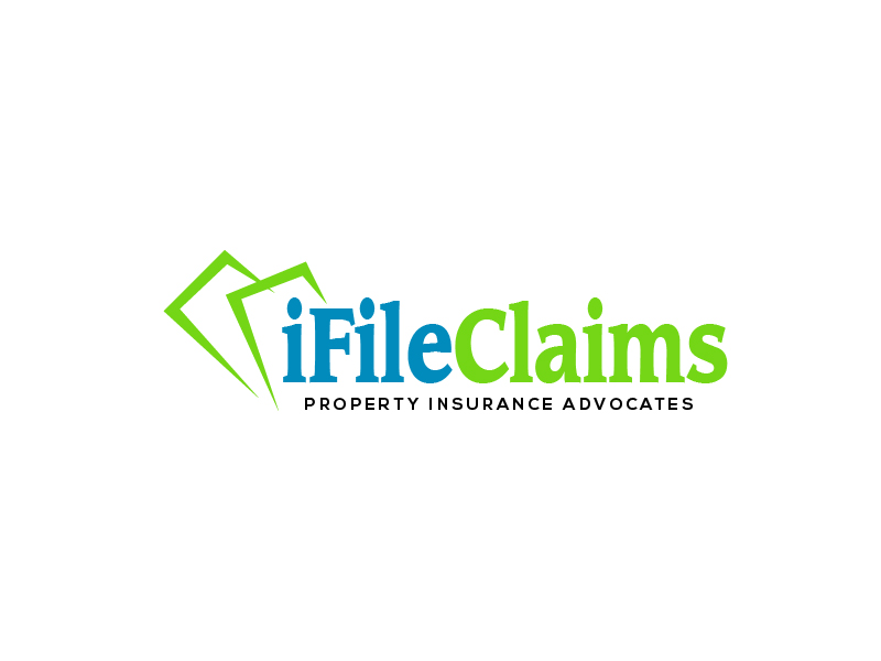iFile Claims - Property Insurance Advocates logo design by my!dea