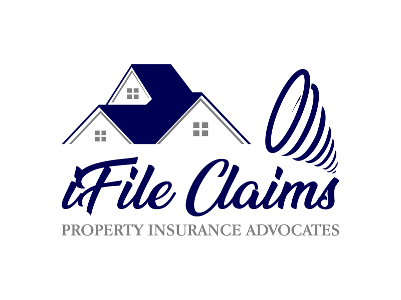 iFile Claims - Property Insurance Advocates logo design by twomindz